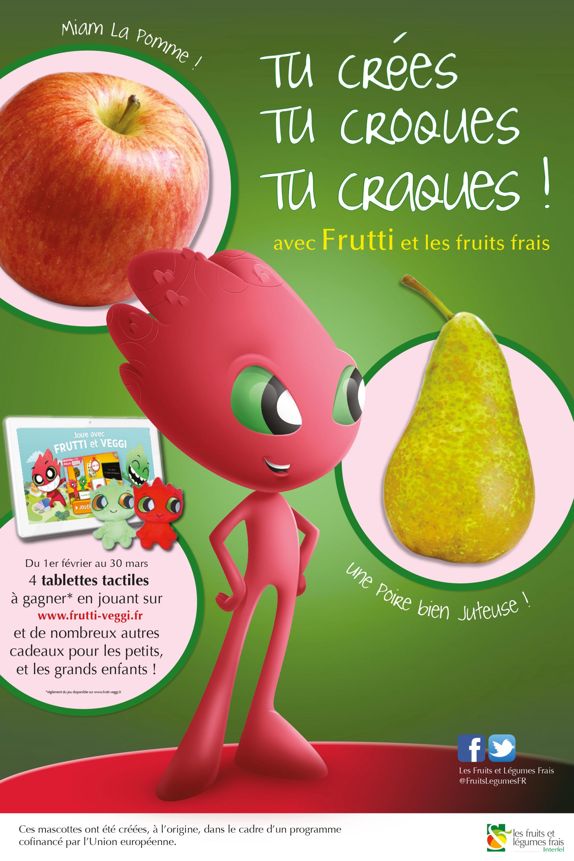La mascotte de Frutti