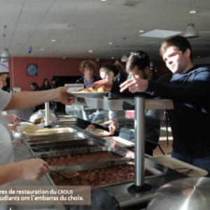 Le restaurant du CROUS de Poitiers