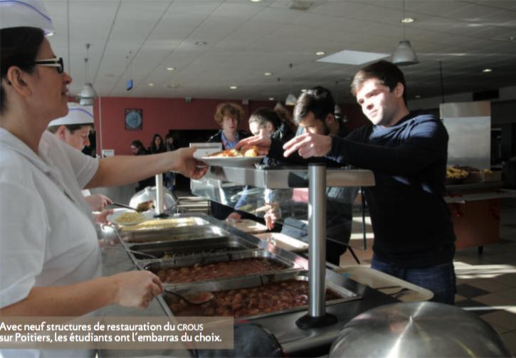 LAutre Cuisine Blog Le Profil Atypique Du Crous De Poitiers - Cuisiner comme un chef poitiers